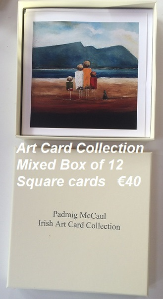 Box of 12 Square Art Cards